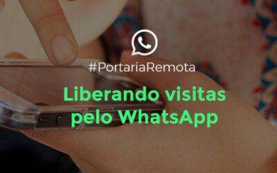 Liberar Visitas via WhatsApp com Chave Virtual